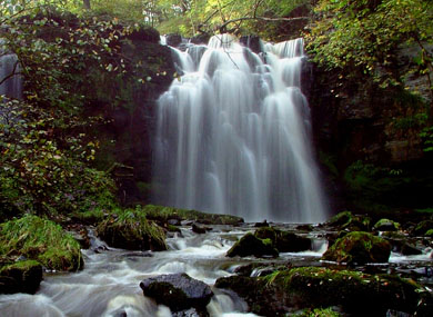 Lynn Falls by Stevie Clarke of Ayrshire